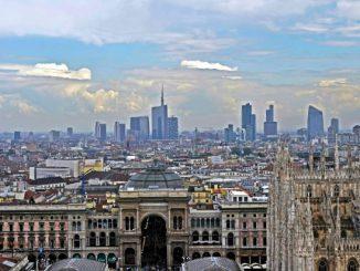 La skyline di Milano