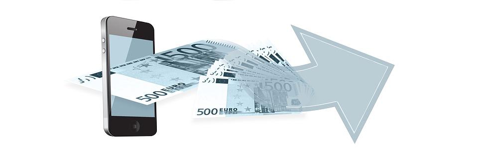 Telefono Cellulare, Euro, Denaro, Finanza