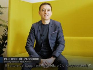 Screenshot della videointervista adyen